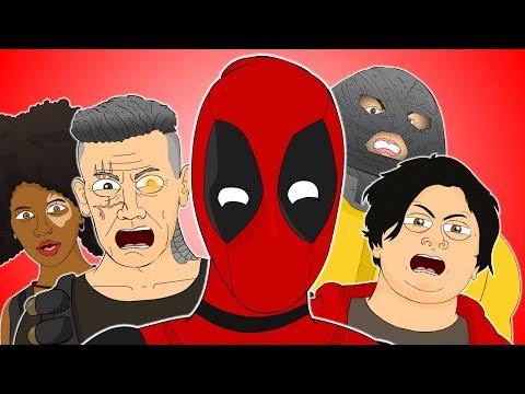 ♪ DEADPOOL 2 THE MUSICAL - Animated Parody Song
