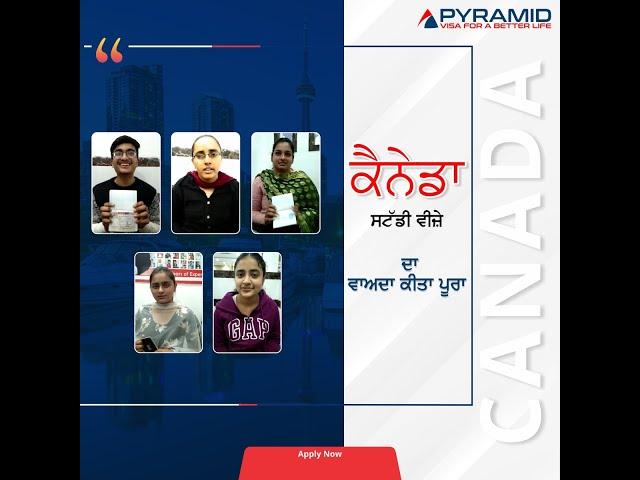 Canada Study Visa Success Stories