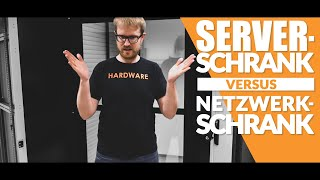 Wir wissen DIE Antwort: Was ist der Unterschied zwischen Netzwerkschrank und Serverschrank?
