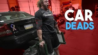 LIFTING A CAR WITH BRIAN ALSRUHE