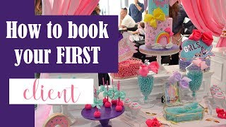 [Event Planning 101] How To Book Your First Client? PICS, TIPS, Q&A