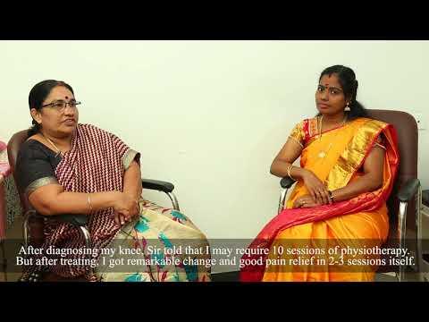 Testimonial 12: Chronic Osteoarthritis & Patellofemoral arthritis