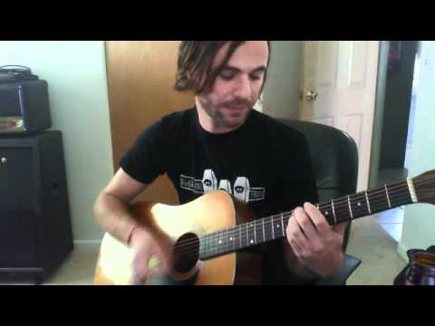 Erik from A Gentlemen Army playing Trusty Chords by Hot Water Music