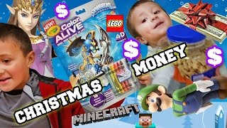 Mike spends Christmas Money! Skylanders Fail, Amiibo, Minecraft, Lego (Hunting/Shopping/Unboxing)