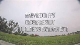 TBS Crossfire Shot - RAW Fpv Freestyle - Tattu Rline - TBS Sourceone #fpvaddiction #fpvfreestyle