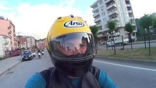 Motorcu Geyikleri  & Tirebolu virajlarında tehlikeli anlar!