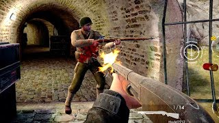 World War Heroes [10 Minutes With Winchester Model 1912] GamePlay Android (1080p)
