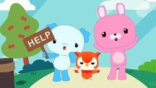 Детские песенки - Лондонский мост падает вниз - Теремок песенки для детей - новые мультики (Baeko)