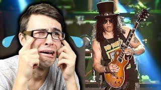 SLASH Guitar Fail?