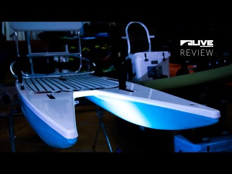 Live Watersports L2Fish paddleboard review