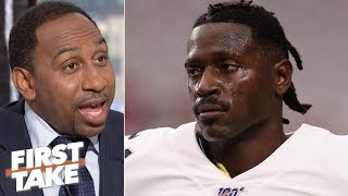 Jon Gruden shouldn't support Antonio Brown - Stephen A. | First Take