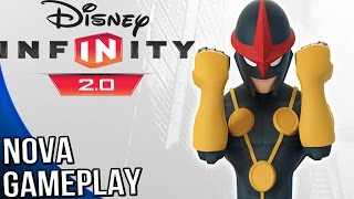 Disney Infinity 2.0 Marvel Super Heroes - Nova Gameplay