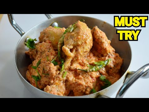 Creamy Chicken Karahi Original Restaurant Recipe by (YES I CAN COOK) #CreamyKarahi #ChickenKarahi