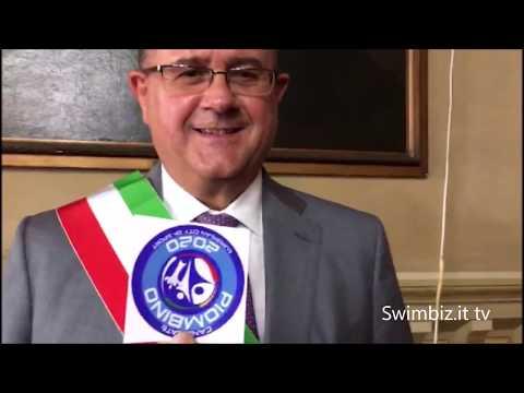 """Preview video Giuliani, il Sindaco Ct """"Il mare è nella nostra cultura"""": a Swimbiz tra Italfondo e Piombino 2020"""