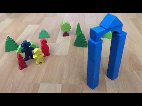 Kindergartenvideos - Basteln