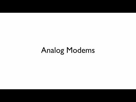 Analog Modems
