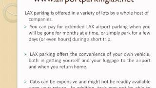 airport parking LAX - LAX Airport parking - Finding Parking at LAX
