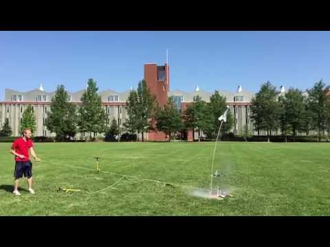 Freshman Scholars Institute Bottle Rocket Launch