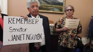 Citizens Demand CA Senate President Kevin de Leon APOLOGIZE To Senator Nguyen