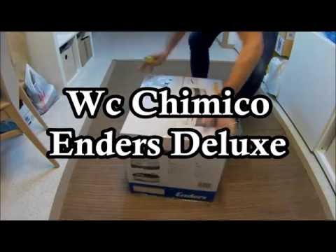 Recensione Unboxing Enders Deluxe Mobil Wc Bagno chimico