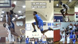 Courtside's Top 100 DUNKS of The Decade!