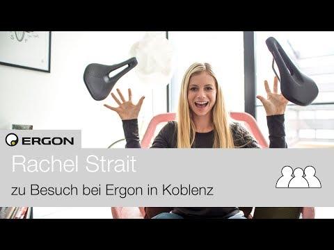 Rachel Strait - zu Besuch bei Ergon in Koblenz