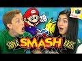 SUPER SMASH BROS. (N64) (Teens React: Retro Gaming)