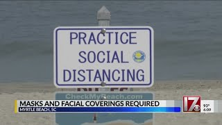 Myrtle Beach will require masks for 4th of July weekend