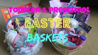 Toddler & Preschool Girl Easter Baskets
