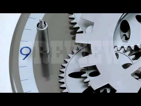 Analog Clock Gears 13