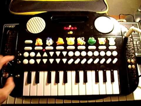 Circuit Bent Animal Farm Keyboard