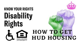 HUD Definition of Person with Disability - Disability Housing Assistance Programs