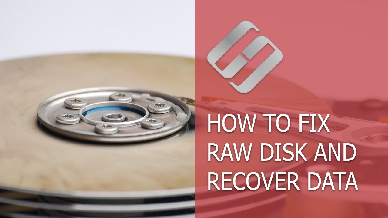 How to Fix a RAW Disk and Recover Data from an HDD with RAW Partitions