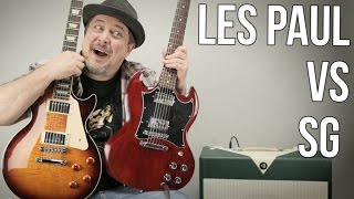 Les Paul vs SG Which Guitar Do You Like More? Marty