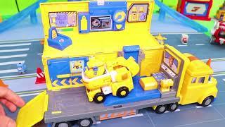 Super Wings Brinquedos Transformers Jett, Donnie & Dizzy videos para crianças
