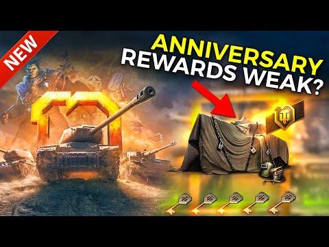 Rewards for 10th Anniversary Celebration! | World of Tanks Anniversary 2020