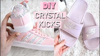 DIY CRYSTAL SHOES // HOW TO MAKE YOUR OWN