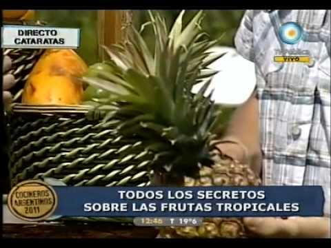Secretos de las frutas tropicales