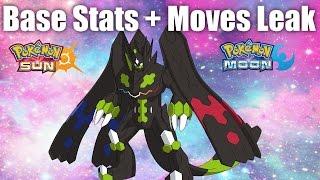 Zygarde 100% Form Is ARCEUS Level - Base Stats + Moves Leak | Pokemon Sun And Moon