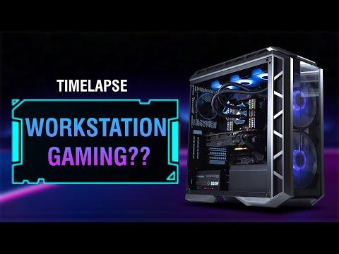 TIMELAPSE BUILD PC | 3970X | RX5700XT | 32GB - Khi Workstation và Gaming làm một