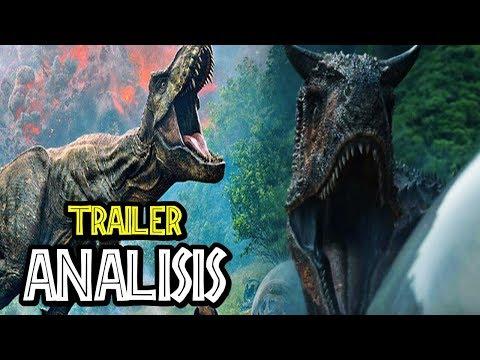 TRAILER JURASSIC WORLD: FALLEN KINGDOM - Secretos, Dinosaurios, Easter Eggs y más!