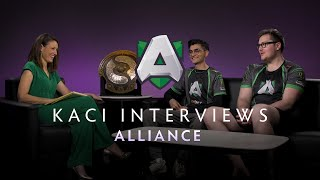 Alliance Interview with Kaci - The International 2019