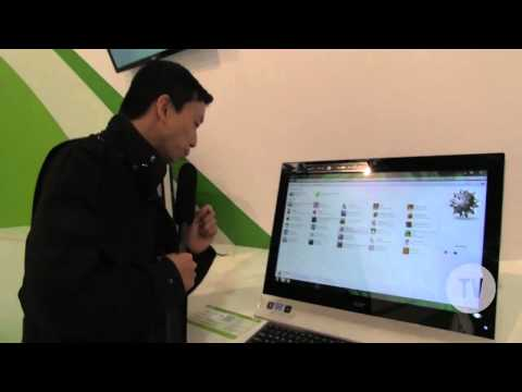 IFA 2012 - Hands-On Acer Aspire ZS600 & Aspire 5600U
