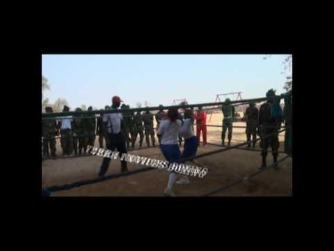 NIGERIAN ARMY FEMALE 72 RRI BOXING COMPATION