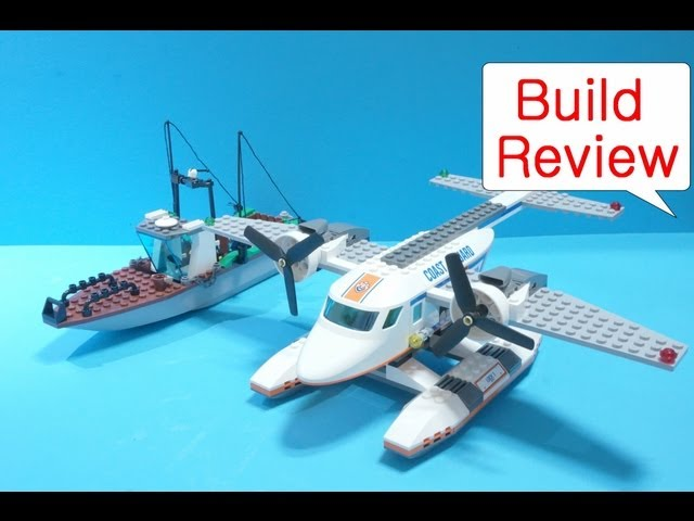 Lego Boat 60015  Coast Guard Plane - Build Review