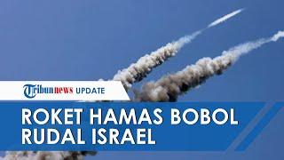 Detik-detik Roket Hamas VS Rudal Pencegat Iron Dome Israel, Saling Serang Berusaha Tembus Pertahanan