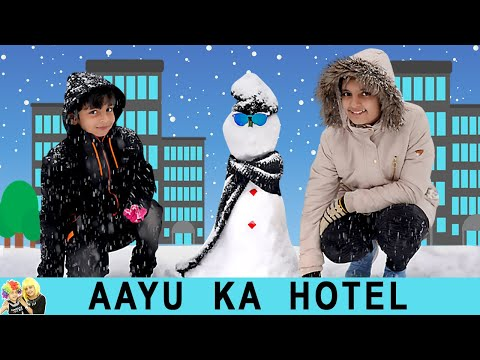 AAYU KA HOTEL | #Funny Types of people in hotel | Aayu and Pihu Show