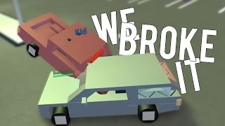 WE BROKE IT - Roblox FUNNY MOMENTS w/ Ollie