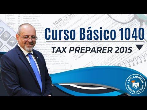 Curso de Taxes - Tax Preparer - Preparador de Impuestos Curso de IMpuestos