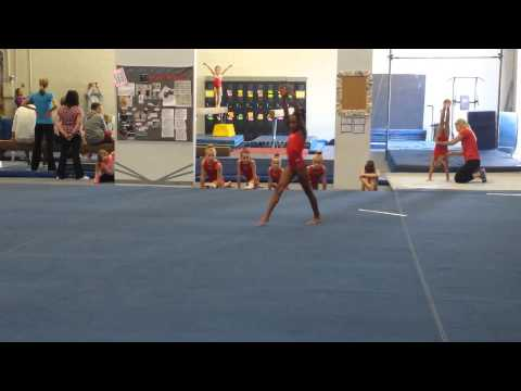 Cartwheels with Gabby Douglas - Naijafy